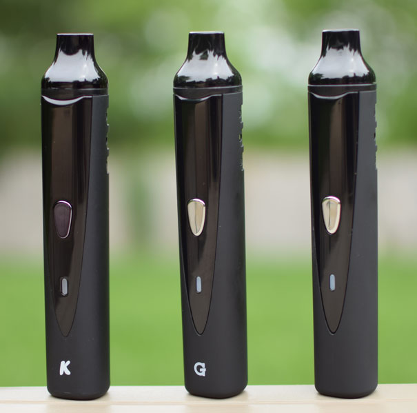K-Vape, G Pro and X-Pen Portable Vaporizers
