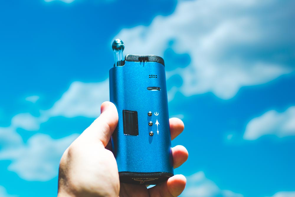 Sidekick vaporizer blue