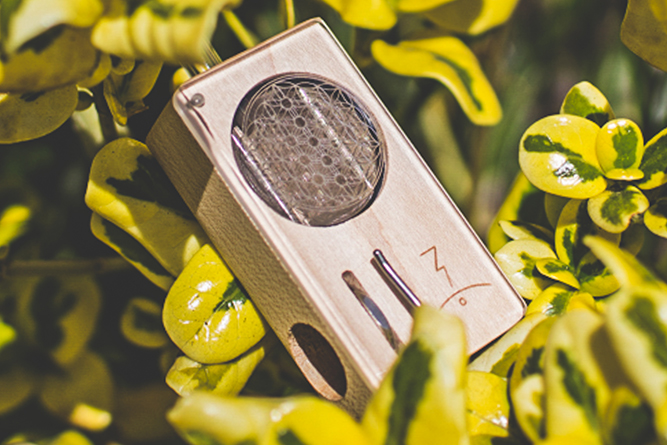 The Magic Flight Launch Box vaporizer.